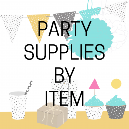 Party Supplies By Item